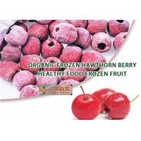 Quality Good Taste Frozen Organic Hawthorn Berry Fruit Diameter 21mm To 28mm for sale
