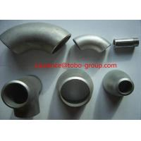 Quality Stainless steel 304/316L Elbow / Bend Sanitary Pipe Fittings for sale