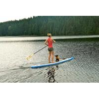 Quality Delux Inflatable SUP Board High Pressure Double Wall Drop Stitch Material for sale