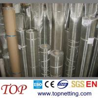 Quality 50/60/70/80/90 mesh stainless steel printing mesh screen/sieving mesh screen for sale