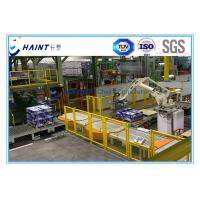 Quality Unit Load Conveyor Automatic Storage Retrieval System Robot Palletizing For Cartons for sale