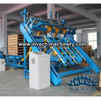 China wood pallet nailing equipment for us stringer pallets and blocks pallets making on sale