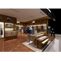 Buy Monolithic Structure Apparel Display Fixtures / Merchandise Display Case at wholesale prices