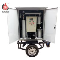 Quality Single Stage Mobile Oil Treatment Plant High Vacuum Transformer Oil Filter Machine for sale