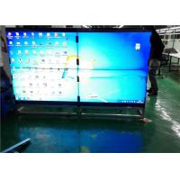 "Quality 40"" To 55"" HD Indoor LED Video Wall Floor Stand With VGA / DVI / HDMI Signal for sale"