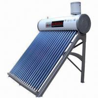 Quality Low-pressure solar water heater with assistant tank for sale