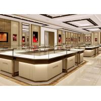Quality Stable Structure Showroom Display Cases Easy Install For Jewelry Retail Store for sale