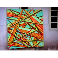 Quality abstract painting wall picture 40x40cm 3pcs for group for sale