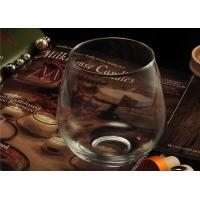 Buy Morden Clear Wine Glass Tumbler / 20 Ounce Drinking Glasses Recyclable at wholesale prices