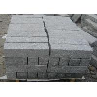 Quality Light Grey Parking Lot Curb Stones , Garden Kerb Stones For Driveways for sale