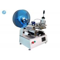 Quality Semi Automatic Cable Labeling Machine , Stainless Steel Wire Labeling System for sale