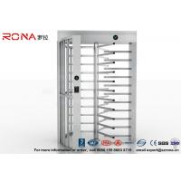 Quality High Security Full High Turnstile Access Control Use for Prison With Stainless Steel for sale