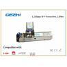Buy cheap 1.25Gbps SFP Optical Transceiver , 120km Reach Single Mode SFP EZX Optical Transceiver from wholesalers