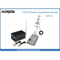 Quality CCTV 2000mW High RF Power Long Range Wireless Video Transmitter For Wireless Security System for sale
