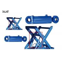 Quality Hydraulic Mobile Scissor Lift Cylinder Double Acting Stroke 600 mm for Industry for sale
