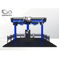 Quality Electric Vibration Multiplayer VR Shooting Platform For Theme Park for sale
