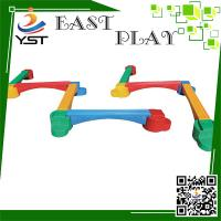 Buy cheap Preschool Kids Playground Equipment 730 * 25 * 42 Cm Long Life Span from wholesalers