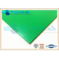 Quality Sound Insulation Clean Room Ceiling Panels , Aluminium Sandwich Sheet 1220*2440 Mm2 for sale