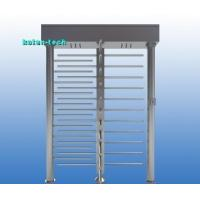 Quality RS485 Interface Full Height Turnstile Gate 90 Degree Rotation Shock Proof for sale