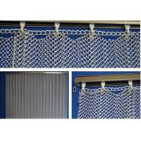 Quality New Style Metal Coil Drapery / Wire Mesh Shower Metal Curtain for sale