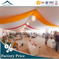 Buy Hot Sale Outdoor Event Tents Colorful Roof Lining Curtain Flooring For at wholesale prices