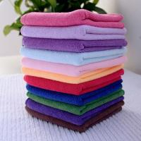 Quality 25*25cm Absorbent Microfiber multifunctional Square Face Towel Hand Towel Cleaning Towel for sale