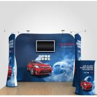 Quality 8Ft 10Ft 15Ft Tension Fabric Displays Trade Show Booth Displays Waterproof for sale