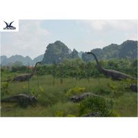Buy Realistic Ultra Giant Dinosaur Statue For Jurassic Forest Decoration 110/220V at wholesale prices