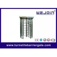 Quality 80W Security Entrance Gate Full Height Turnstile pedestrian barrier for sale