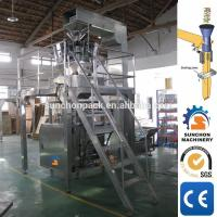 Buy Quad Seal Bag Pet Food Packing Machine Stainless Steel Structure Multi Head at wholesale prices