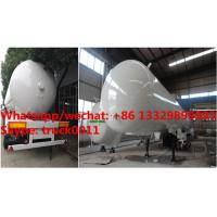 Quality Factory sale best price 56cbm propane gas transported trailer, HOT SALE! high quality and cheaper price lpg tank trailer for sale
