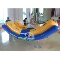 Quality 4 persons inflatable seesaw water toys for kids and adults water park adventure for sale