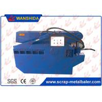 Buy cheap Metal Hydraulic Shear Alligator Type 120Ton Cutting Force With Safety Cover from wholesalers