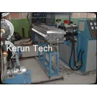 Quality Decorative Plastic Board Production Line / PVC Foam Board Making Machine Twin Screw for sale