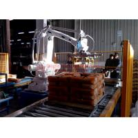 Buy High Strength Automatic Stacking Machine , Fast Packing Robotic Bag Palletizer at wholesale prices