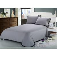 Quality Lightweight Fabric Lace Luxury Cotton Sheets , 3 Pcs Elegant Sheet Sets for sale