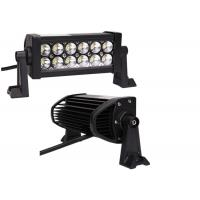 Quality 36W 6000K 7.5 inch LED Driving Light Bar , LED Work Light Bar For SUV Lamp for sale