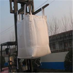 Quality white black brown color 500kg 800kg 1000kg 1500kg 2000kg one ton PP /big /FIBC /jumbo bulk bag supply company price for sale
