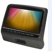 China Universal Car Pillow Dual Headrest Dvd Player For Car Black Beige Grey on sale