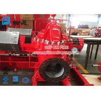 Quality Red Color Diesel Engine Fire Pump / Fire Fighting Pumps 1500gpm @ 125-135PSI for sale