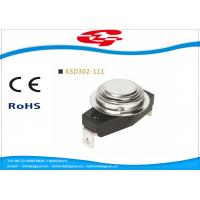 Quality KSD302-111 Temperature Switch Thermostat , Bimetal Disc Thermostat Automatic Reset for sale