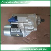 Quality Mitsubishi 6HK1  QDJ2403 M008T60927 starter 24V for sale