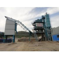 Quality 50T Hot Aggregate Bin Asphalt Mixing Plant With Toledo Sensor Cold Riveting Technology for sale
