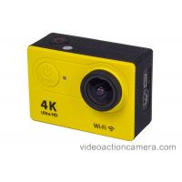 """Quality HD 4k Wifi Remote Action Camera 2"""" Screen With 170 Degree View Angle for sale"""