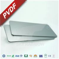 Quality High Rigidity Aluminium Composite Metal Panel With PE PVDF Coating For Construction for sale