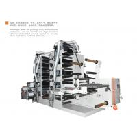Quality 8 colors 450 350 550 Label Flexo printing machinery with one die cutting station and conveyor still image function for sale