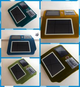 Quality Online Payment Fingerprint POS , RFID / MSR Card Reader Biometric Fingerprint System for sale