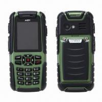 Quality IP67 Waterproof Rugged GSM Quad Band Mobile Phones for sale
