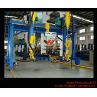 Quality Automatic Movable Gantry Welding Machine 18m Rail For H Beam Production Line for sale