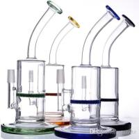Quality 14mm Male Bowl Glass Water Tube Glass Smoking Pipe Glass Water Pipes  Hand Blown Borosilicate for sale